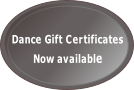 Dance Gift Certificates  